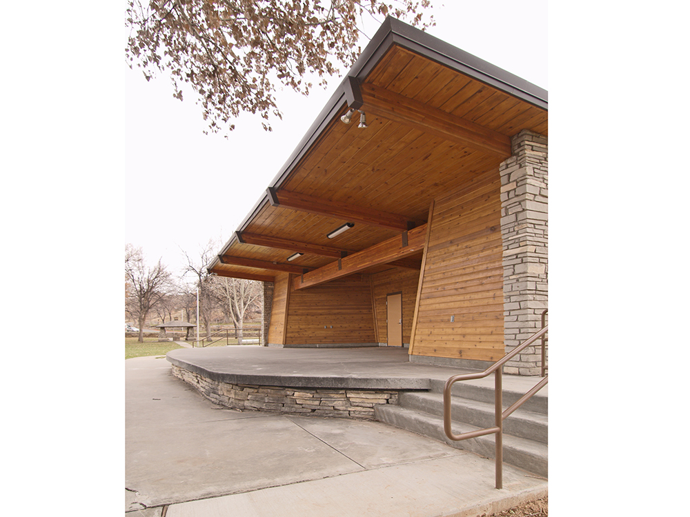 Hot Springs State Park Bandshell - Plan One/Architects